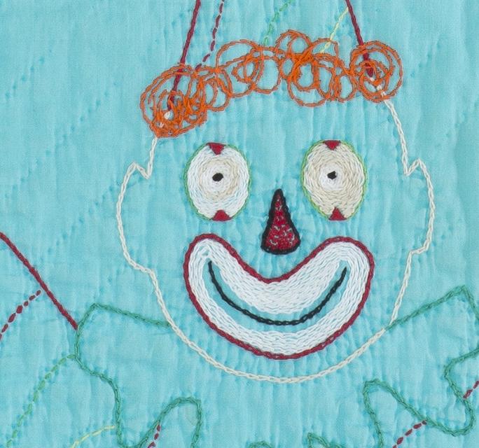Clown_Quilt_Detail